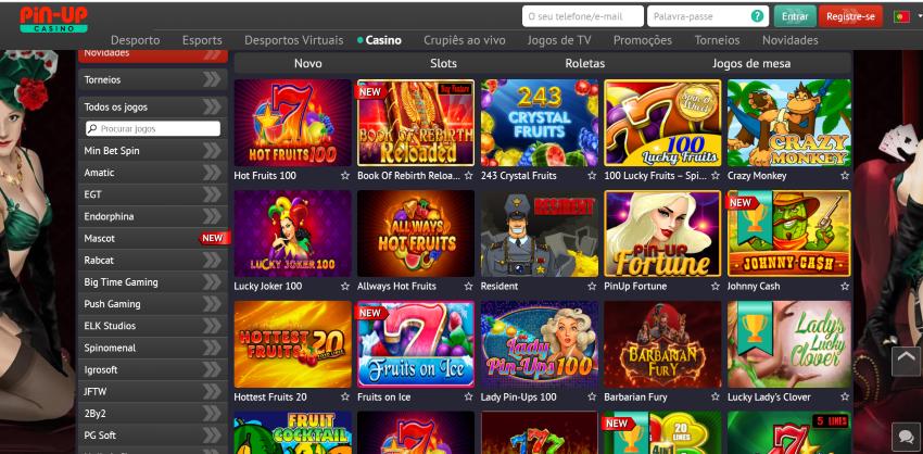 pinupbet Portugal casino